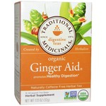 Traditional Medicinals Ginger Aid 20 Tea Bags