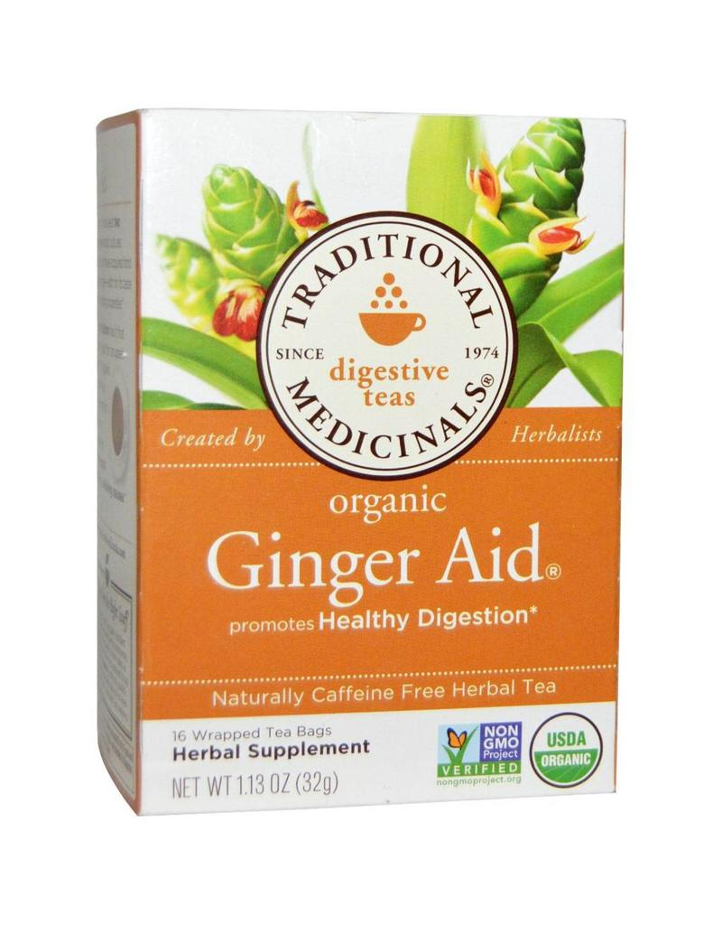 Traditional Medicinals Ginger Aid 20 Tea Bags
