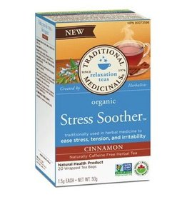 Traditional Medicinals Stress Soother Cinnamon 16 Tea Bags