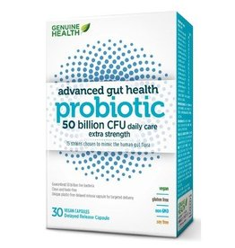 Genuine Health Genuine Health Advanced Gut Health Probiotic 50 billion 30 caps