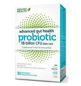 Genuine Health Genuine Health Advanced Gut Probiotic 15 billion 30 caps