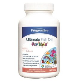 Progressive Ultimate Fish Oil for Kids 60 softgels