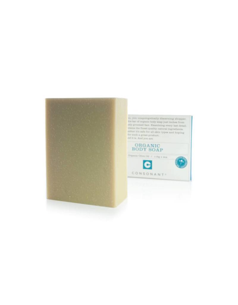 Consonant Skin Care Organic Olive Oil Body Soap 4oz