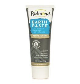 Redmond Earthpaste Peppermint W/Charcoal 4oz