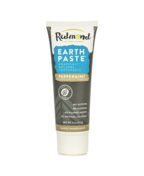 Earthpaste Peppermint W/Charcoal 4oz