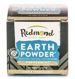 Redmond Earthpowder Peppermint with Charcoal 1.8oz
