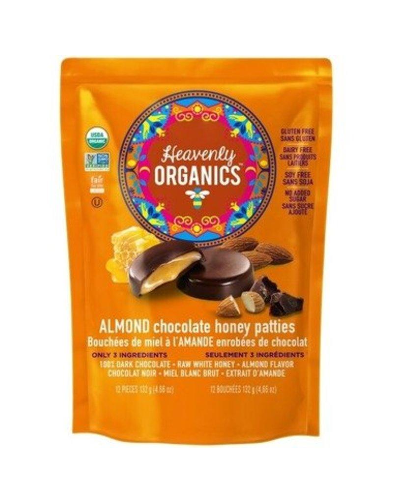 Heavenly Organics Heavenly Organics Almond Chocolate Bag 12 pieces