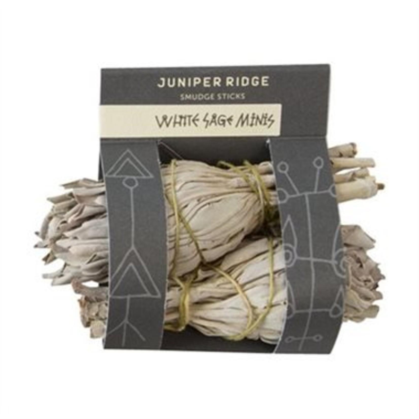 Juniper Ridge Juniper Ridge Smudge Sage Stick Mini 2 Pack