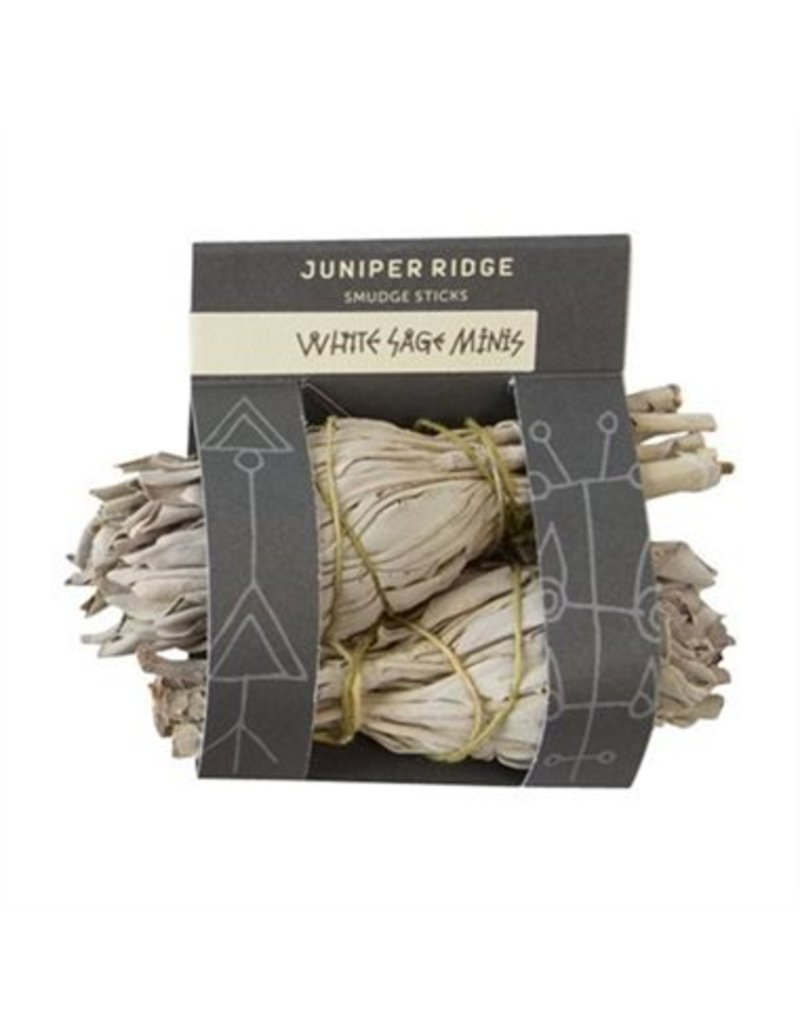 Juniper Ridge Juniper Ridge Smudge Sage Stick Mini 2 Pack