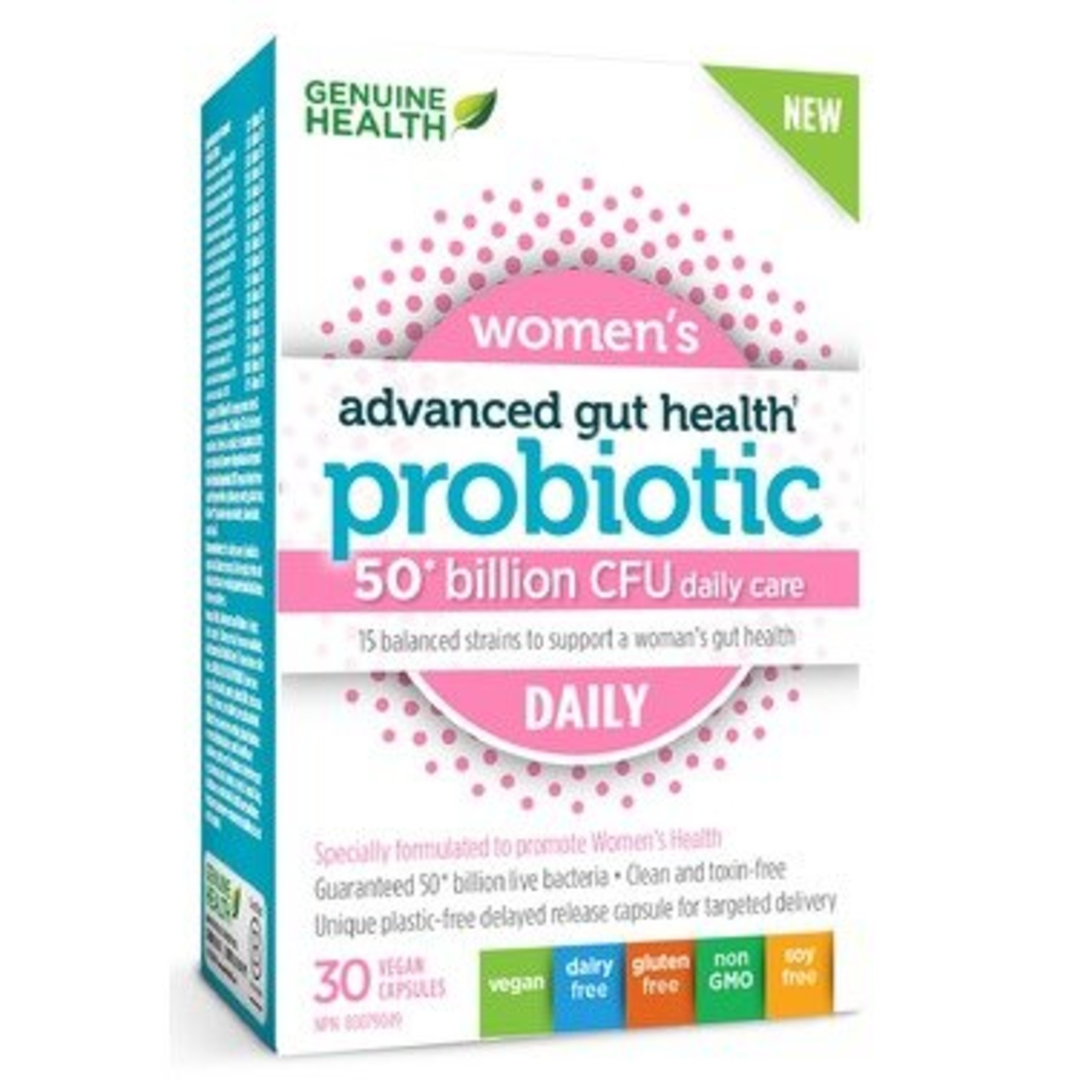 Genuine Health Genuine Health Advanced Gut Health - Probiotic Womens Daily 30 caps