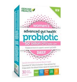 Genuine Health Genuine Health Advanced Gut Health - Probiotic Womens Daily 30 caps
