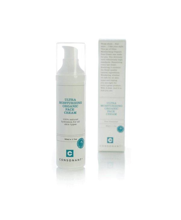 Ultra Moisturizing Organic Face Cream 50ml