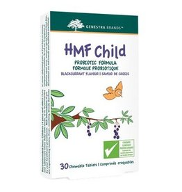 Genestra HMF Child Chewable Probiotic Formula Blackcurrant 30 tabs Black Currant