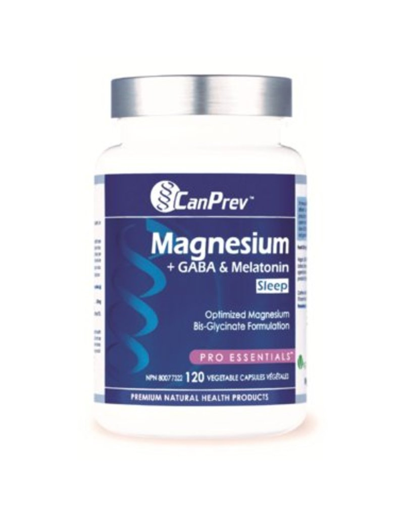 Can Prev Can Prev Magnesium + GABA & Melatonin for Sleep, 120 v-caps