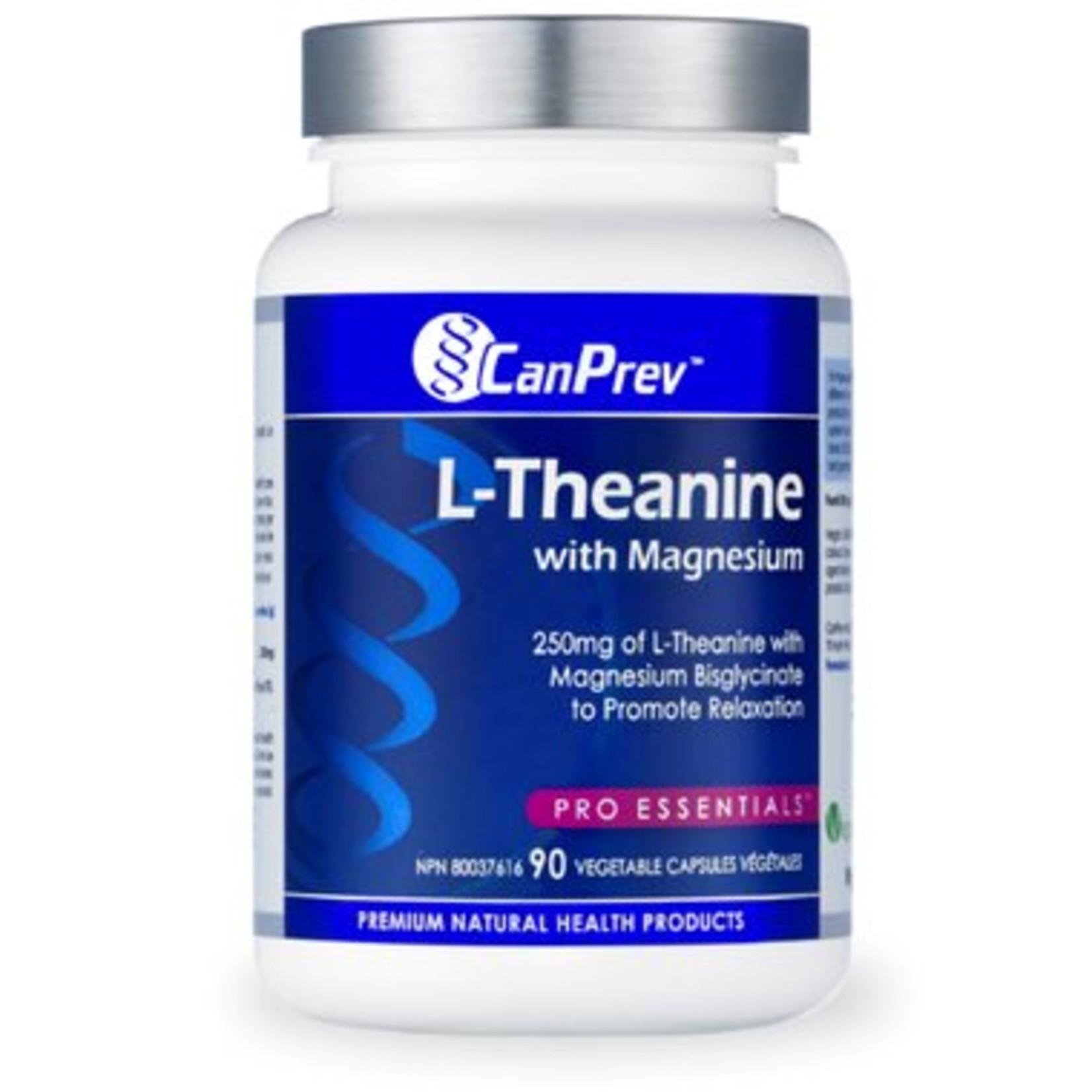 Can Prev Can Prev L-Theanine 250mg 90 v-caps
