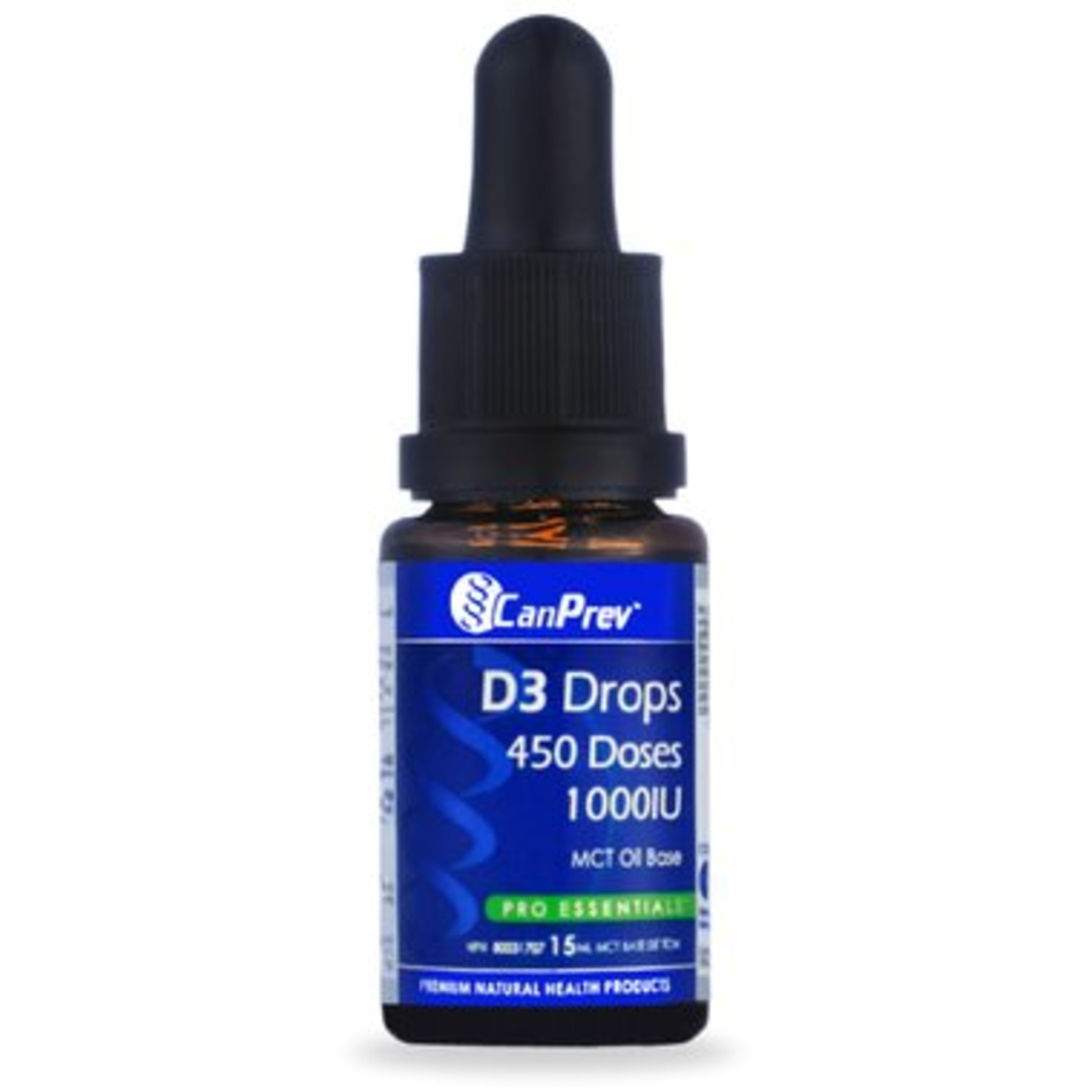Can Prev Can Prev D3 Drops 1000IU- MCT base 15mL