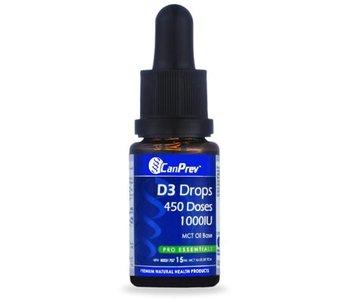 Can Prev D3 Drops 1000IU- MCT base 15mL