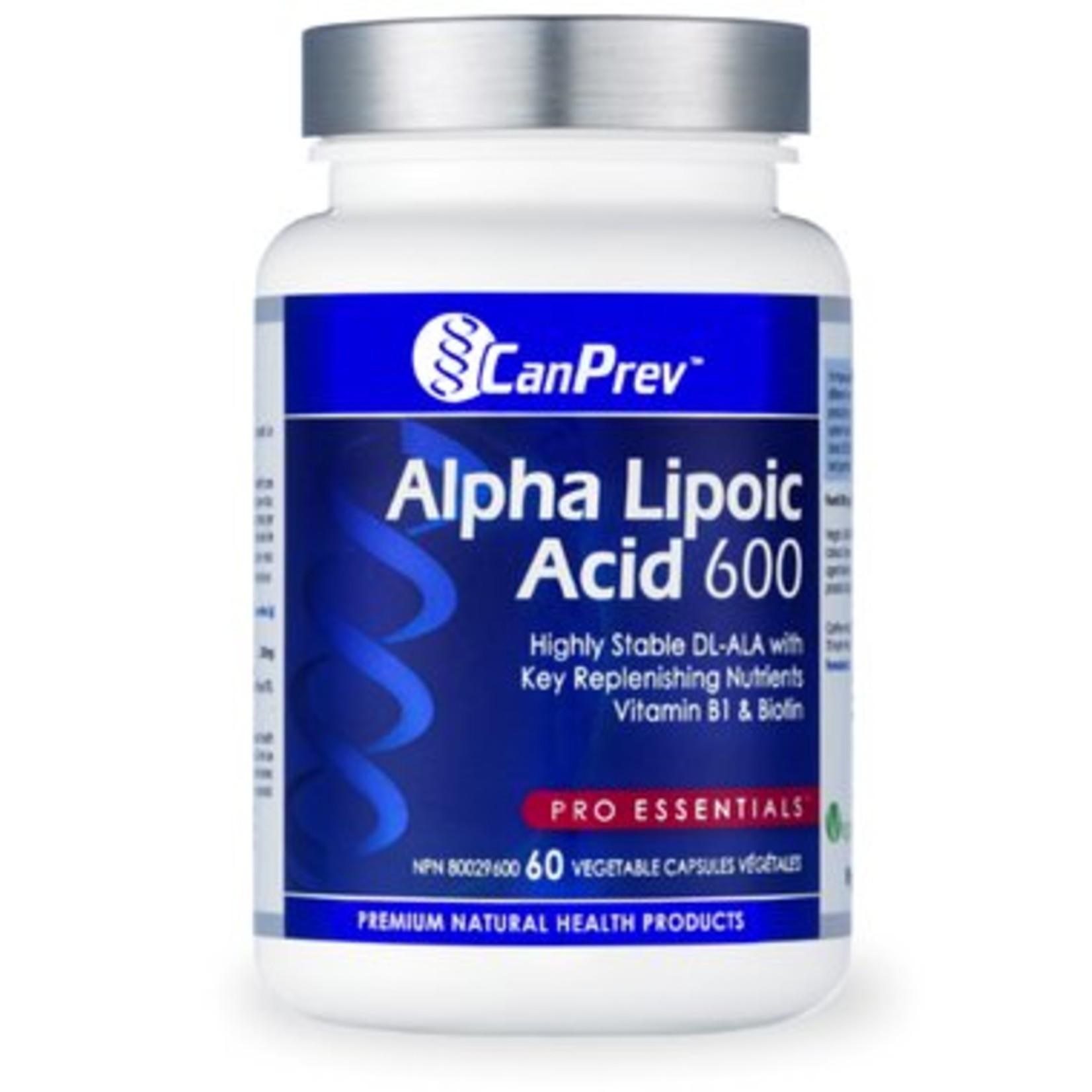 Can Prev Can Prev Alpha Lipoic Acid 600 mg 60 v-caps