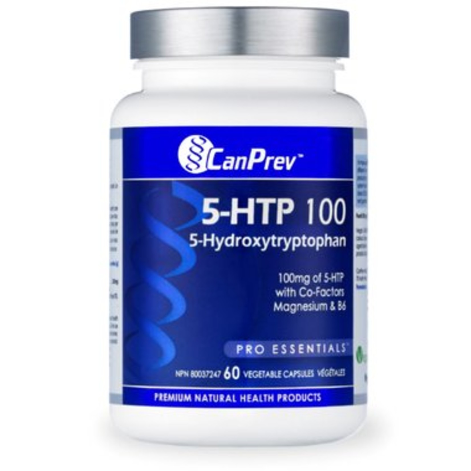 Can Prev Can Prev 5-HTP 100 with B6 & Mag 60 v-caps