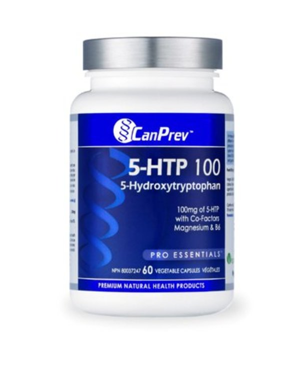 Can Prev 5-HTP 100 with B6 & Mag 60 v-caps