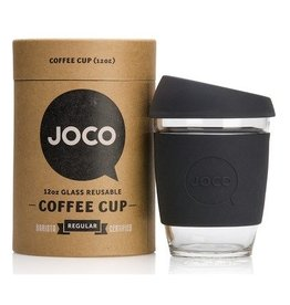 Joco Reusable Glass Cup Black