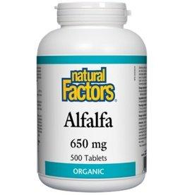 Natural Factors Natural Factors Alfalfa 650MG Tab 500