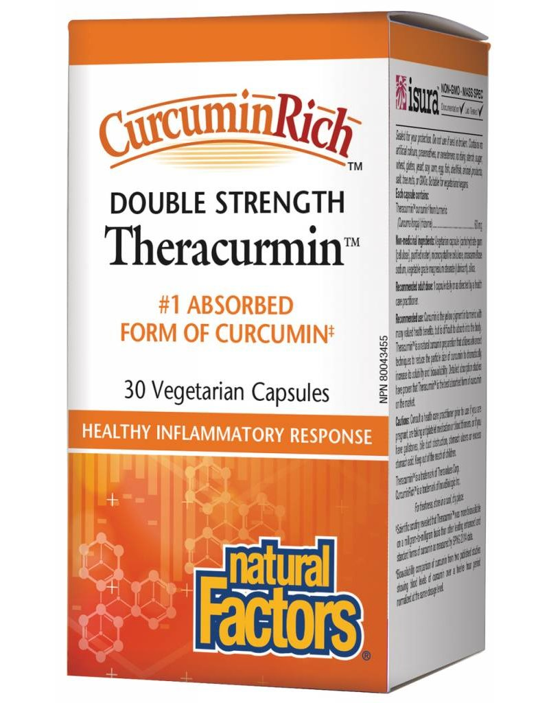 Natural Factors Natural Factors Curcumin Rich Theracurmin 60MG Vcap 30