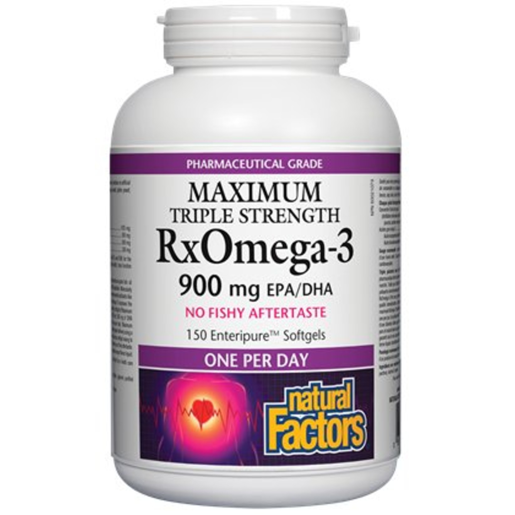 Natural Factors Natural Factors Rx Omega 3 Factors One A Day 150
