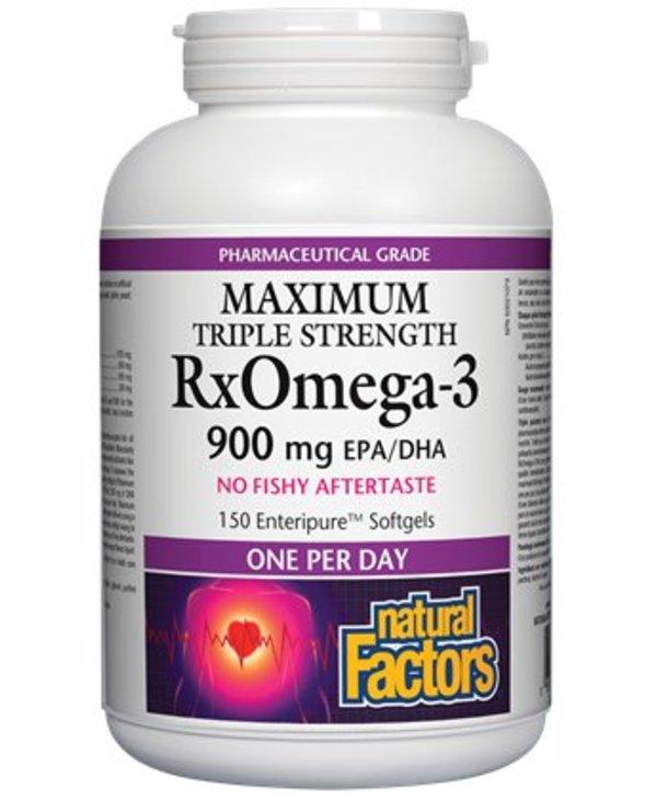 Natural Factors Rx Omega 3 Factors One A Day 150