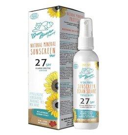 Green Beaver Natural Mineral Sunscreen SPF 27 90ml Spray