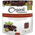 Organic Traditions Acai Berry Powder Freeze Dried 100g