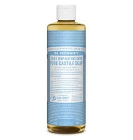 Dr. Bronners Dr. Bronner's Pure Castile Soap Unscented 16oz