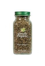 Organic Traditions Black Pepper 65g
