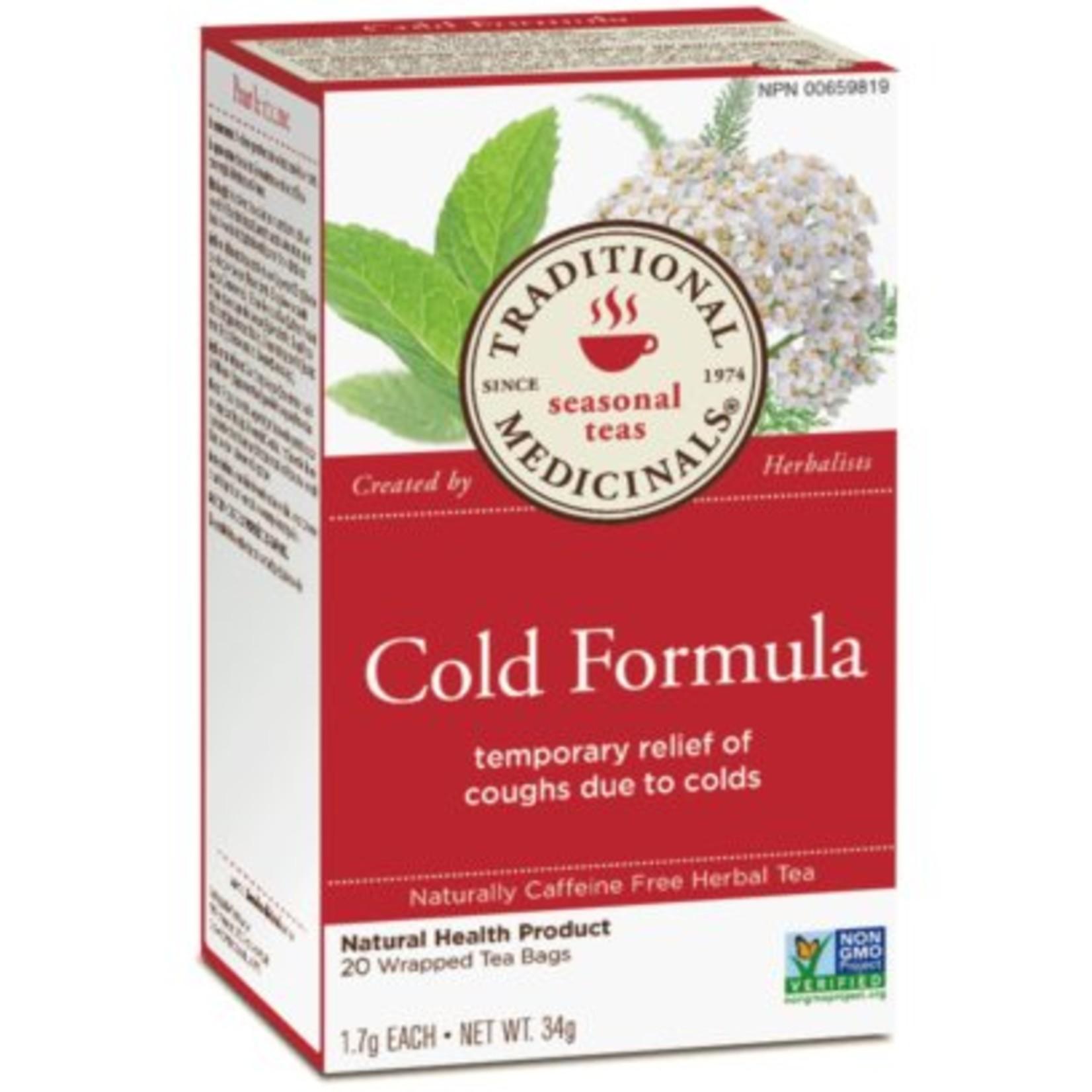 Traditional Medicinals Cold Formula 20 Tea Bags