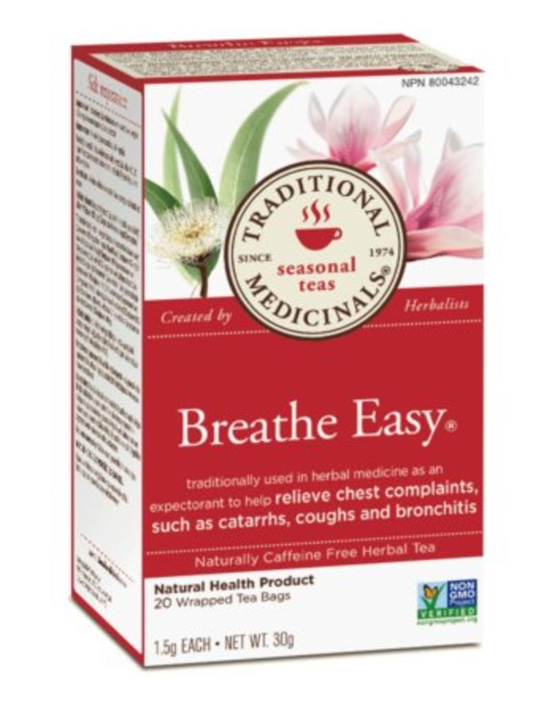 Traditional Medicinals Breathe Easy 20 Tea Bags