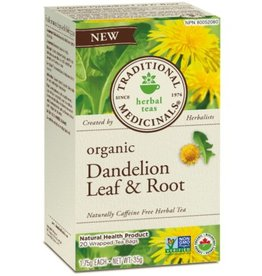 Traditional Medicinals Dandelion Leaf and Root 16 Tea Bags