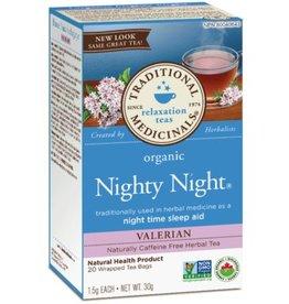Traditional Medicinals Nighty Night Valerian 20 Tea Bags