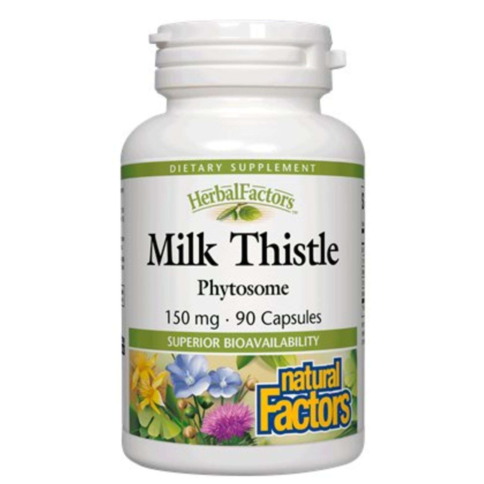 Natural Factors Natural Factors Milk Thistle Phyt 150MG Cap 90