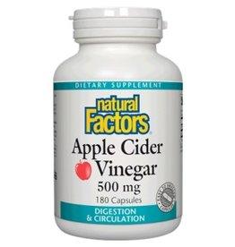 Natural Factors Apple Cider Vinegar 500MG Cap 90