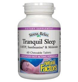 Natural Factors S.R Tranquil Sleep Tab 60