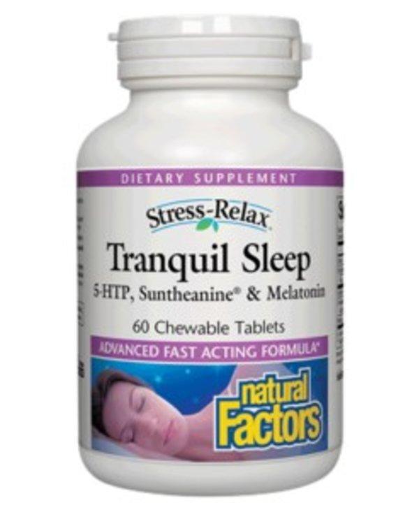 Natural Factors S.R Tranquil Sleep Tab 60