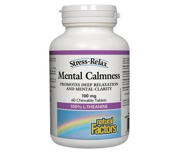 Natural Factors S.R Mental Calmness Tab 60