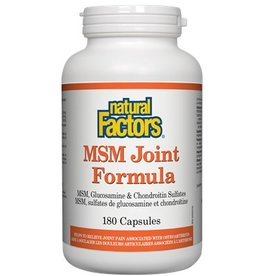 Natural Factors MSM Joint Formula Cap 180