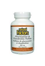 Natural Factors Glucosamine and Chondroitin Sulfate 900mg 120 caps