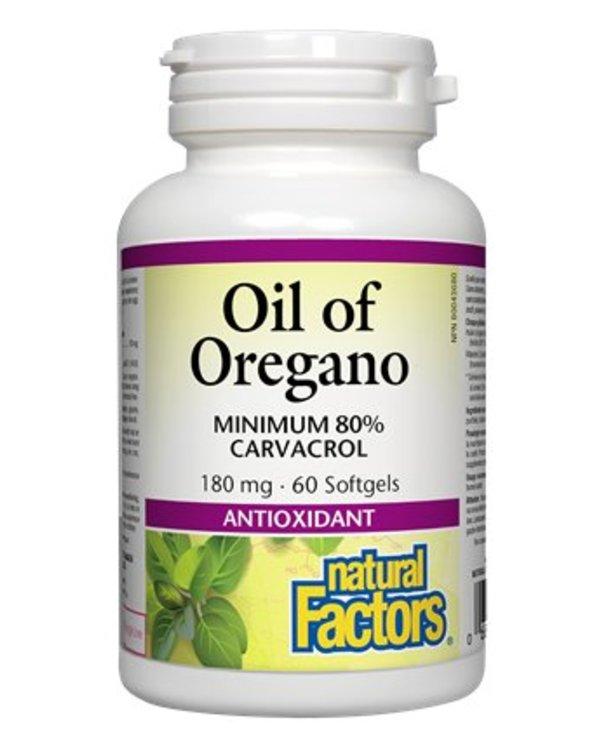 Oil of Oregano 180mg 60 softgels