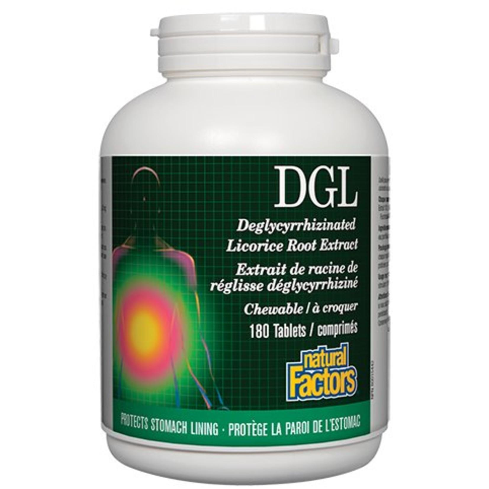 Natural Factors DGL 400mg 180 chews
