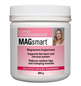 Lorna Vanderhaegue Lorna Magsmart Organic Raspberry 200g powder