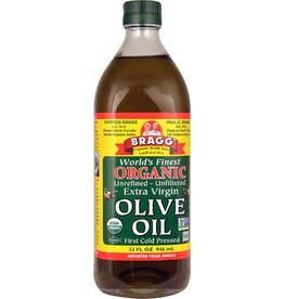 Braggs Olive Oil Organic Unrefined Extra-Virgin 946ml