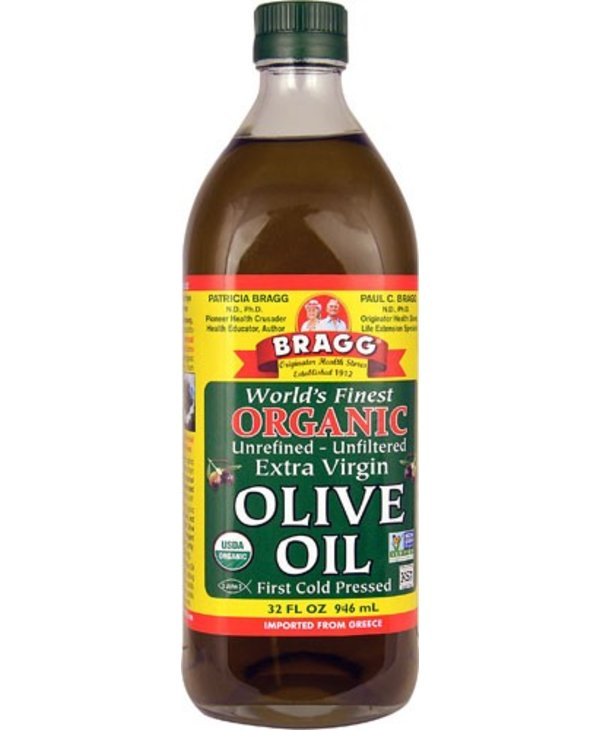 Olive Oil Organic Unrefined Extra-Virgin 946ml