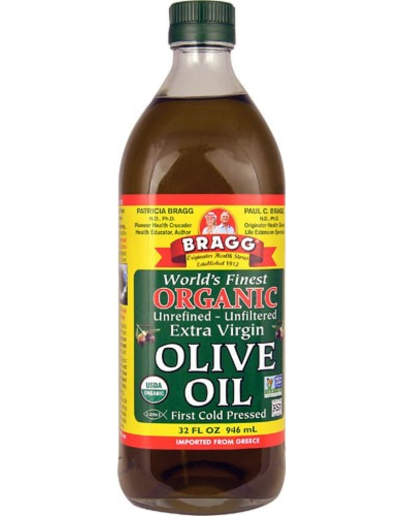 Braggs Olive Oil Organic Unrefined Extra-Virgin 946ml